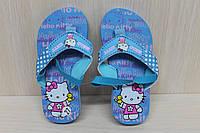 Пляжная летняя обувь, детские вьетнамки для девочки р. 28