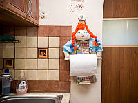 Полотенцедержатель кукла, фото 1