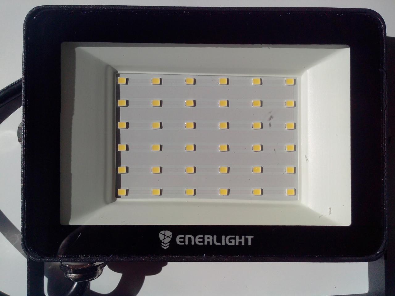 Прожектор 30W Led 2400Lm 6500К ENERLIGHT MANGUST