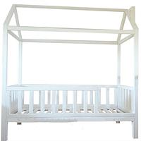 Детская кровать Домик с бортиком без ящиков