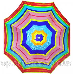 Пляжный зонт  200 cm С наклоном и напылением am