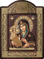 Набор для вышивки бисером Богородица «Троеручица» СН 8007