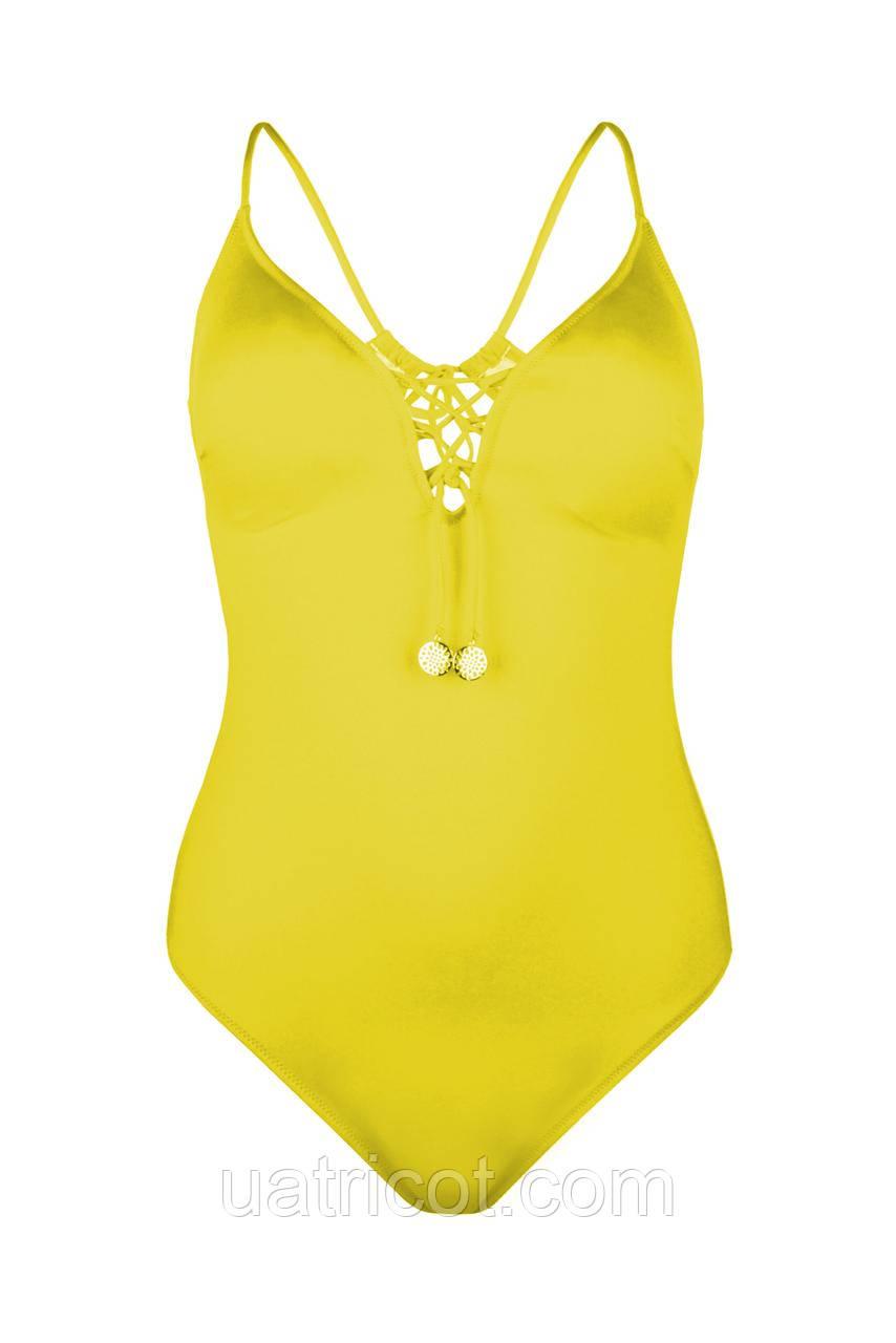 Купальник женский майо KIFA К-875 желтый