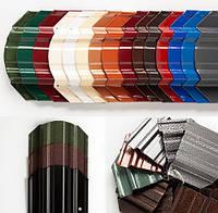 Штакет металлический порошковая двухсторонняя покраска