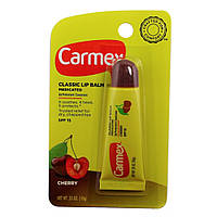 "Carmex бальзам для губ в тубе ""Вишня"" Lip Balm Tube Cherry SPF 15"