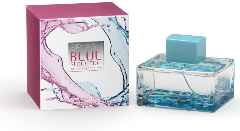 Парфюм женский Antonio Banderas Splash Blue Seduction For Woman 100 мл