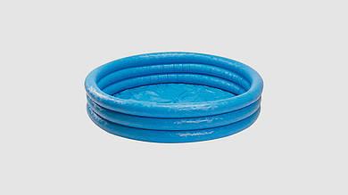Детский надувной бассейн. Синий кристалл INTEX 58426