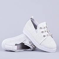 Мокасины Allshoes 87565 WHITE 36 23,5 см