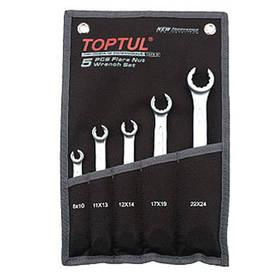 Набор ключей разрезных 5 шт.8-24 Toptul GPAQ0502