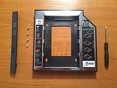 Фрейм-перехідник Maiwo 12.7mm SATA до SDD та HDD Новий!