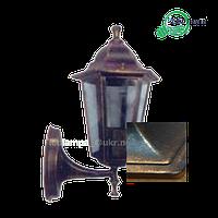 Светильник уличный бра античное золото PL6101 Lemanso