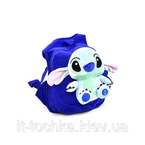 Детский мягкий рюкзак c33965 Лило и Стич с игрушкой