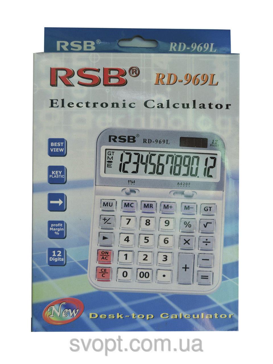 Калькулятор RSB rd-969l