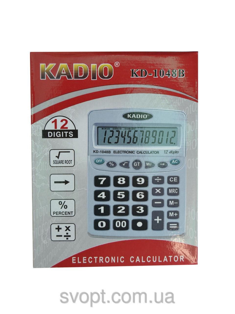 Калькулятор Kadio kd-1048b