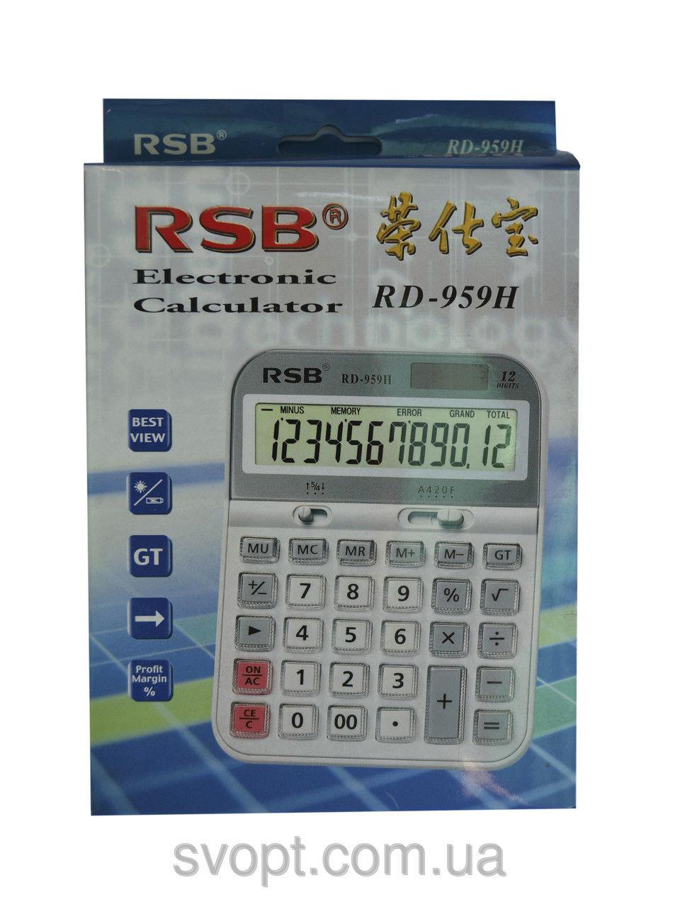 Калькулятор RSB rd-959h