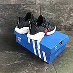 Мужские кроссовки Adidas (темно-синий, с белым), фото 6