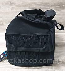 Дорожная сумка хорошего качества, среднего размера 50х25х22 см, плотный материал, ножки на дне сумке, фото 3