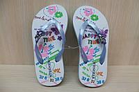 Пляжная летняя обувь, детские вьетнамки для девочки р.32
