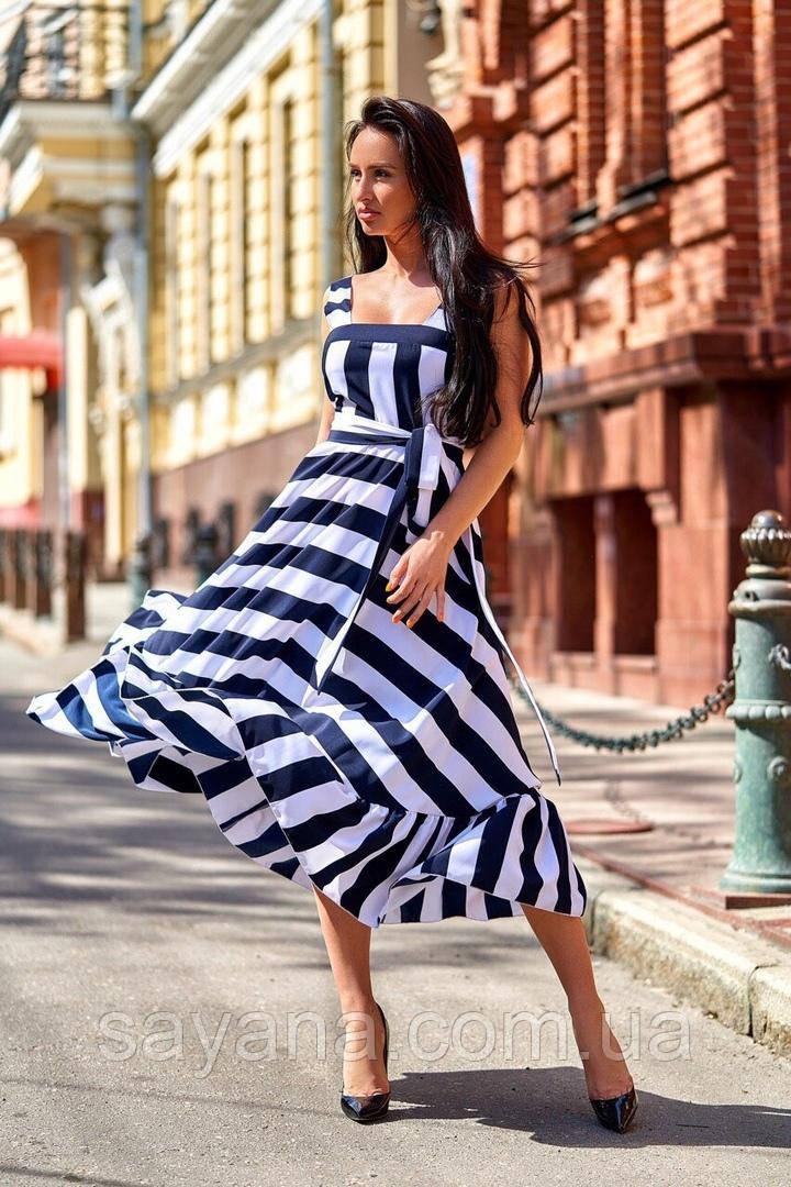 Женское нарядное платье сарафан. А-2-0519