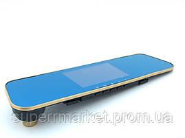 """Car DVR DV400 Tachograph автомобильный HD регистратор-зеркало, сенсорный экран 4.3"""" с двумя камерами, фото 3"""
