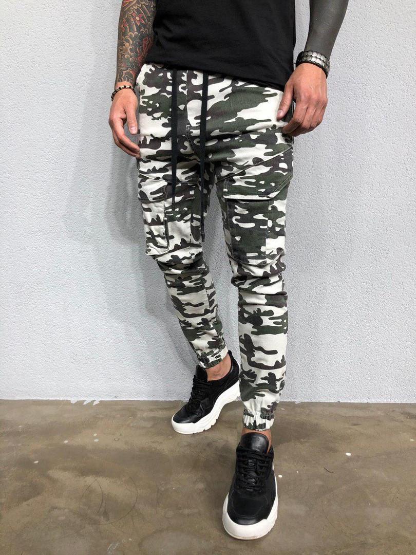 Мужские джинсы (милитари)