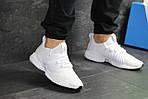 Мужские кроссовки Adidas (белые), фото 2
