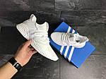 Мужские кроссовки Adidas (белые), фото 5