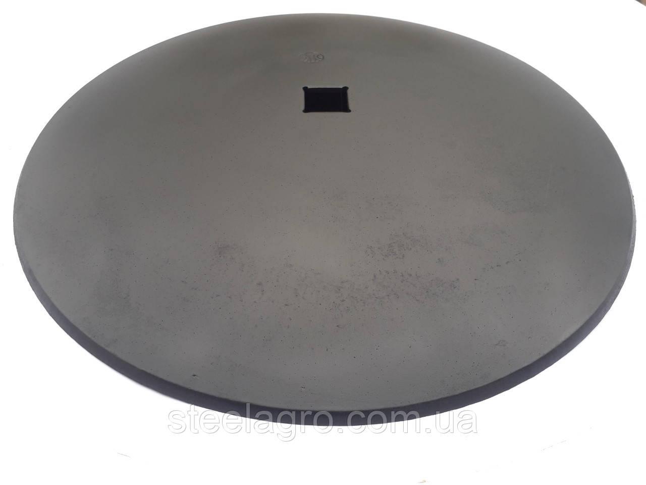 Диск борони 560х7мм, кв 40,5 мм гладкий/ромашка ст30Mnb5 до борони Уманьферммаш БДШ-8.2