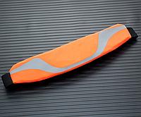 Спортивная сумка на пояс для телефона со светоотражателями Оранжевый, фото 1
