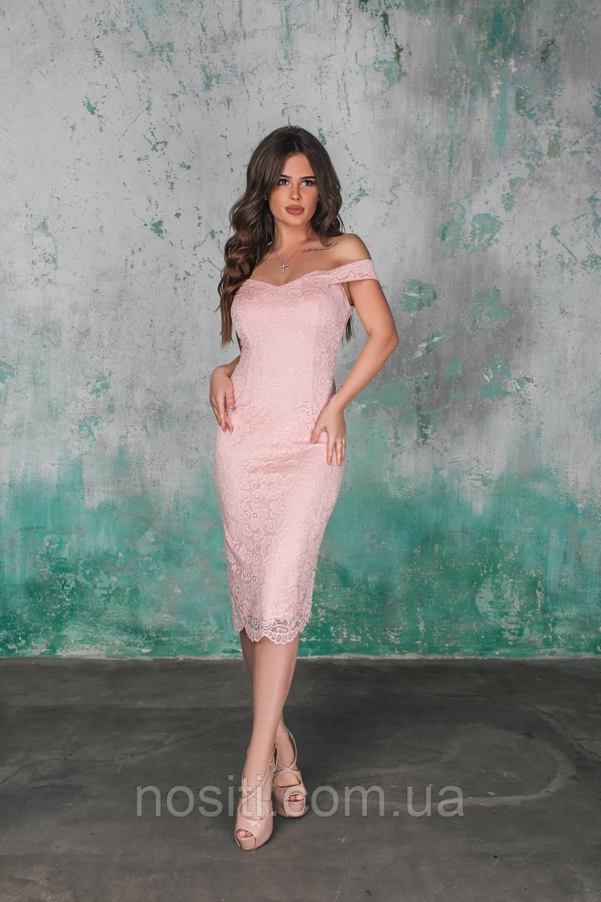 Идеальное платье на выпускной с красивым гипюром