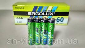 Батарейка Ergolux AAA R03 (R03SR4) 1.5 V