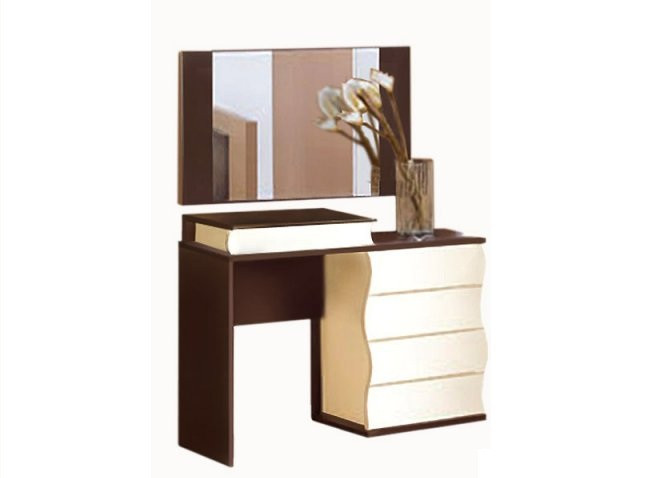 Стол туалетный Наяда с зеркалом (Мастер Форм)