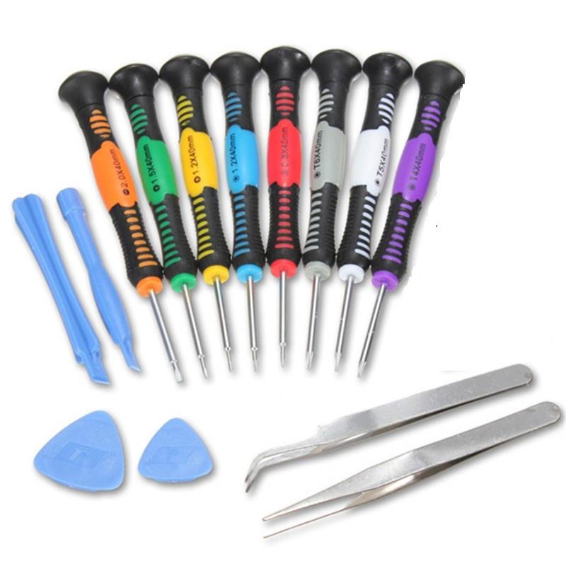 Набор инструментов, отверток для ремонта телефонов 2811 (14 шт.)