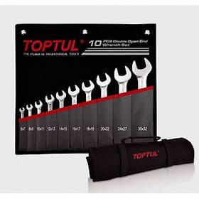 Набір ріжкових ключів 10 шт. 6-32 Toptul GPCJ1001