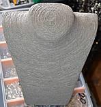Шея под бижутерию соломенная нить, фото 5
