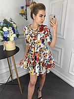 Платье женское сбоку застегивается на змейку р. 42 44 46 48, фото 1