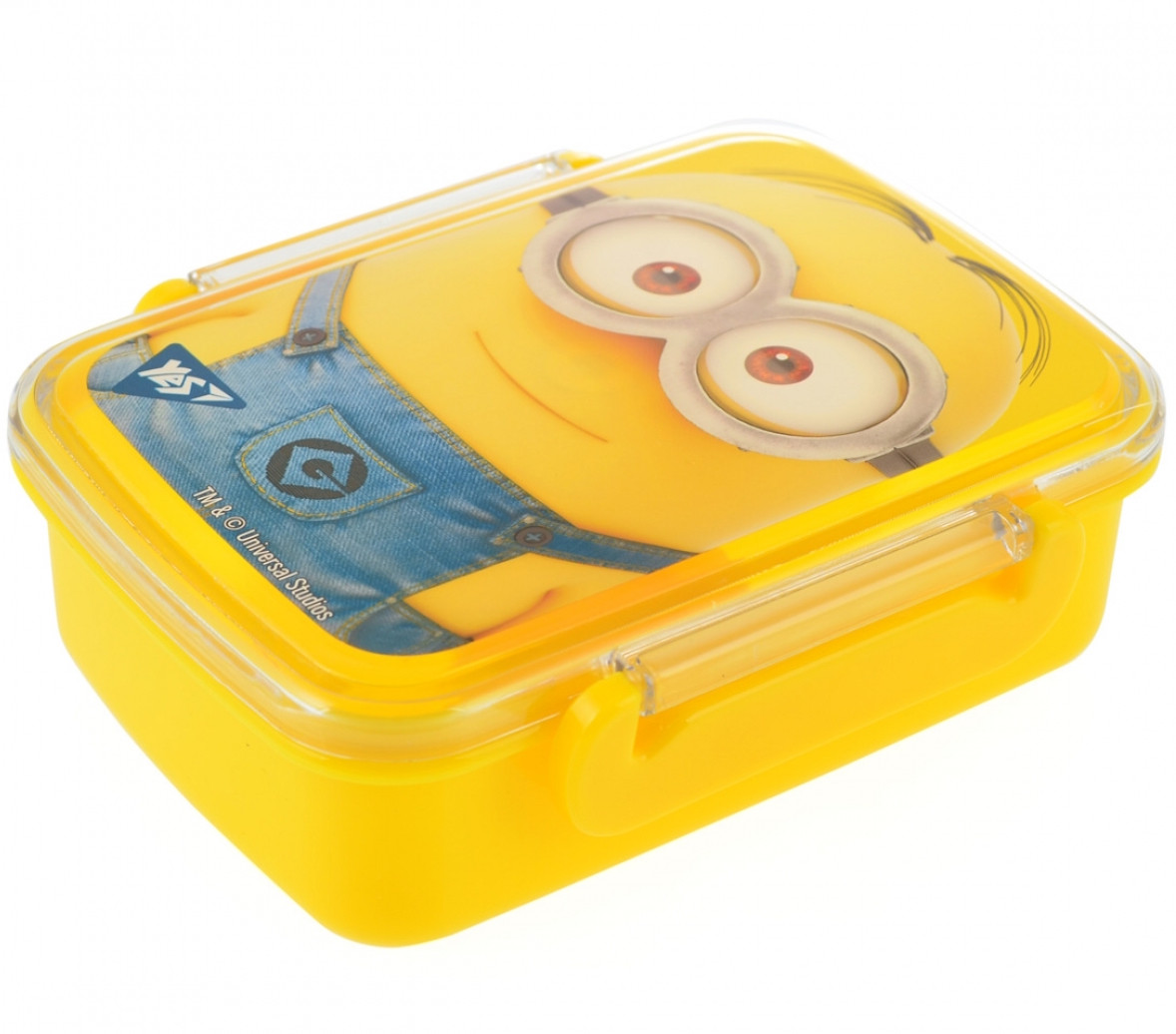 "Контейнер для еды YES ""Minions"" с разделителем 420 мл"