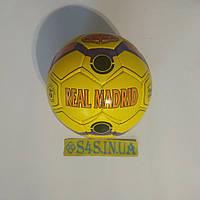 Мяч футбольный Grippy SemiDull YW Real Madrid, желтый, р. 5, не ламинированный