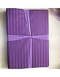 Постельное белье Сатин-страйп Фиолетовый, фото 2