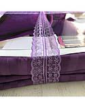 Постельное белье Сатин-страйп Фиолетовый, фото 4