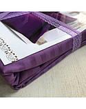 Постельное белье Сатин-страйп Фиолетовый, фото 6