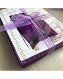 Постельное белье Сатин-страйп Фиолетовый, фото 5