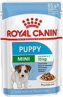 Паучи Royal Canin Mini Puppy 85г (в упаковке 12шт.)