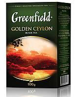 Чай  Greenfield Golden Ceylon листовой 100г.