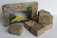 Макуха подсолнечника ( брикеты 8шт ) кукуруза