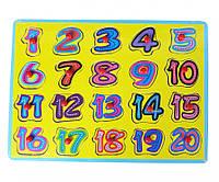 Деревянная игрушка Рамка-вкладыш MD 0646 ( 0646-1)