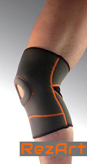 Наколенник с открытой коленной чашечкой. Материал - неопрен. Размер: XL. 1 шт. 8707