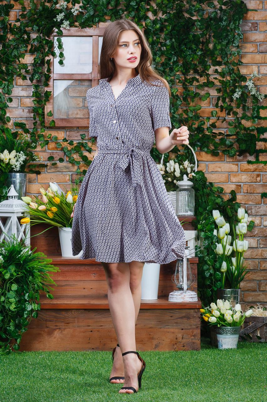 Летнее легкое платье п-6343
