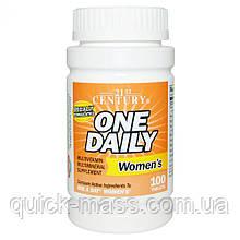 Витамины комплексные женские 21st Century One daily women's 100 tab