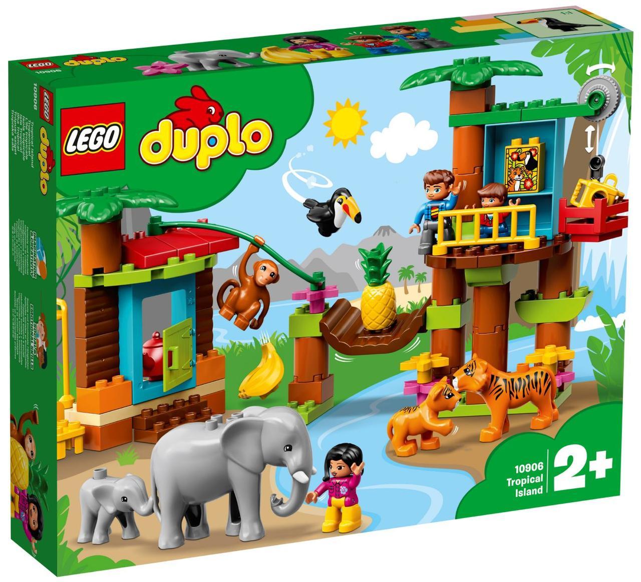 Lego Duplo Тропический остров 10906